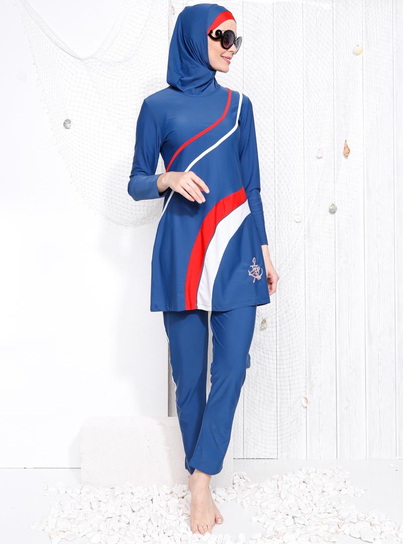 لباس شنا مایو اسلامی بورکینی