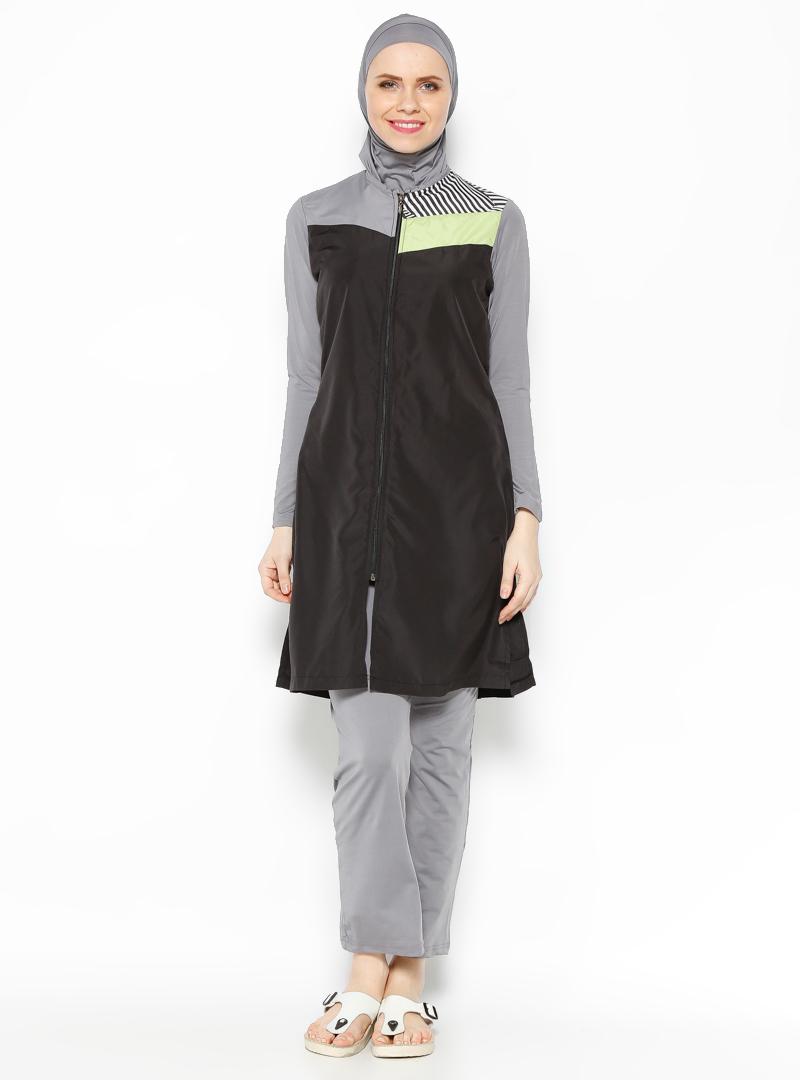 جدیدترین مدلهای مایو پوشیده نیمه پوشیده اسلامی لباس شنا بورکینی دخترانه زنانه 2016