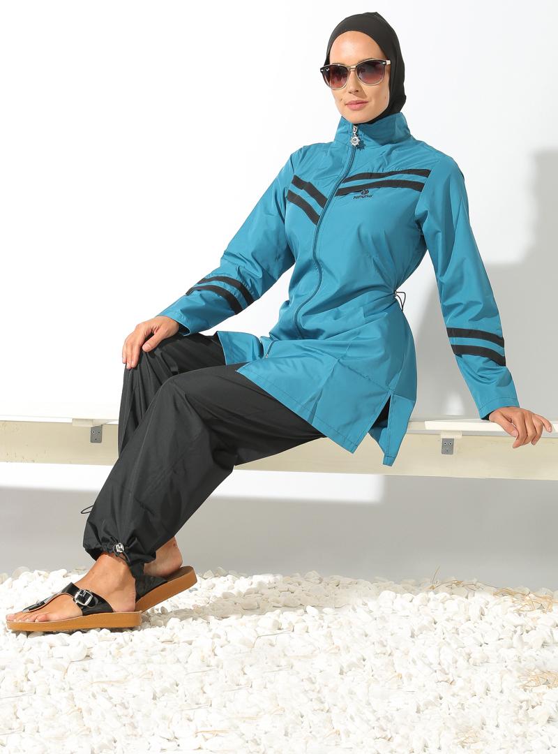 عکس مایو حجاب مایو پوشیده نیمه پوشیده اسلامی لباس شنا بورکینی دخترانه زنانه 2016