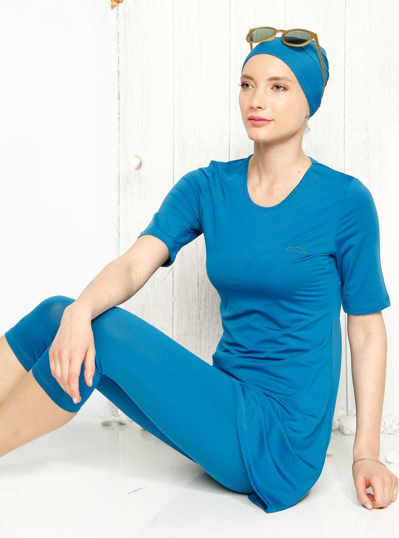 جدیدترین مدل مایو اسلامی بورکینی لباس شنای پوشیده دخترانه زنانه 2016