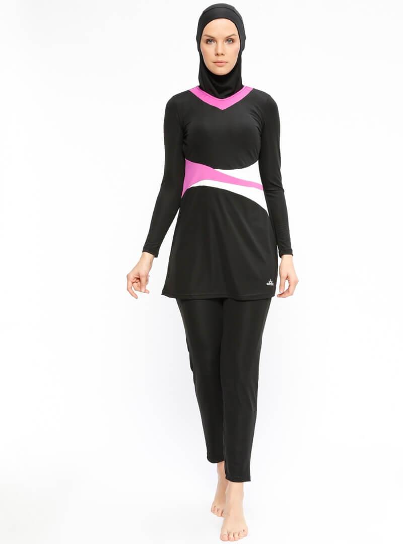 مایو اسلامی زنانه پوشیده sunmore بورکینی زنانه پوشیده