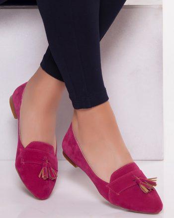 کفش عروسکی سرخابی کفش کفش عروسکی - سرخابی - کفش  Ayakkabi Havuzu