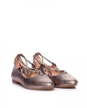 کفش عروسکی پلاتینی کفش کفش عروسکی - پلاتینی - کفش  Ayakkabi Havuzu