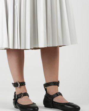 چرم اصل  کفش عروسکی مشکی چرم اصل  - کفش عروسکی - مشکی  Pixy