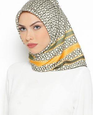 روسری طلایی سبز روسری - طلایی - سبز  Misirli