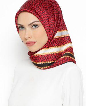 روسری طوسی زرشکی روسری - طوسی - زرشکی  Misirli