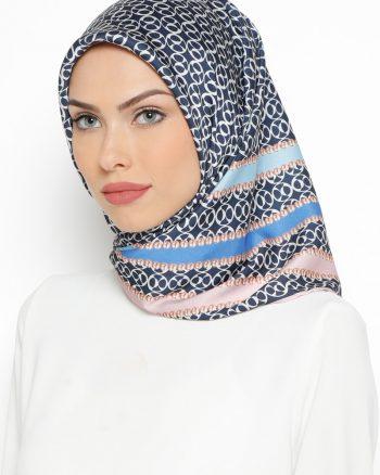 روسری صورتی روشن آبی روسری - صورتی روشن - آبی  Misirli