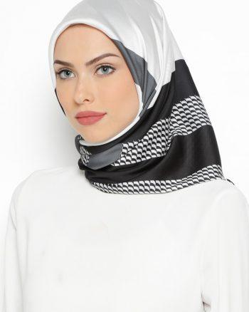 روسری مشکی طوسی روسری - مشکی - طوسی  Misirli