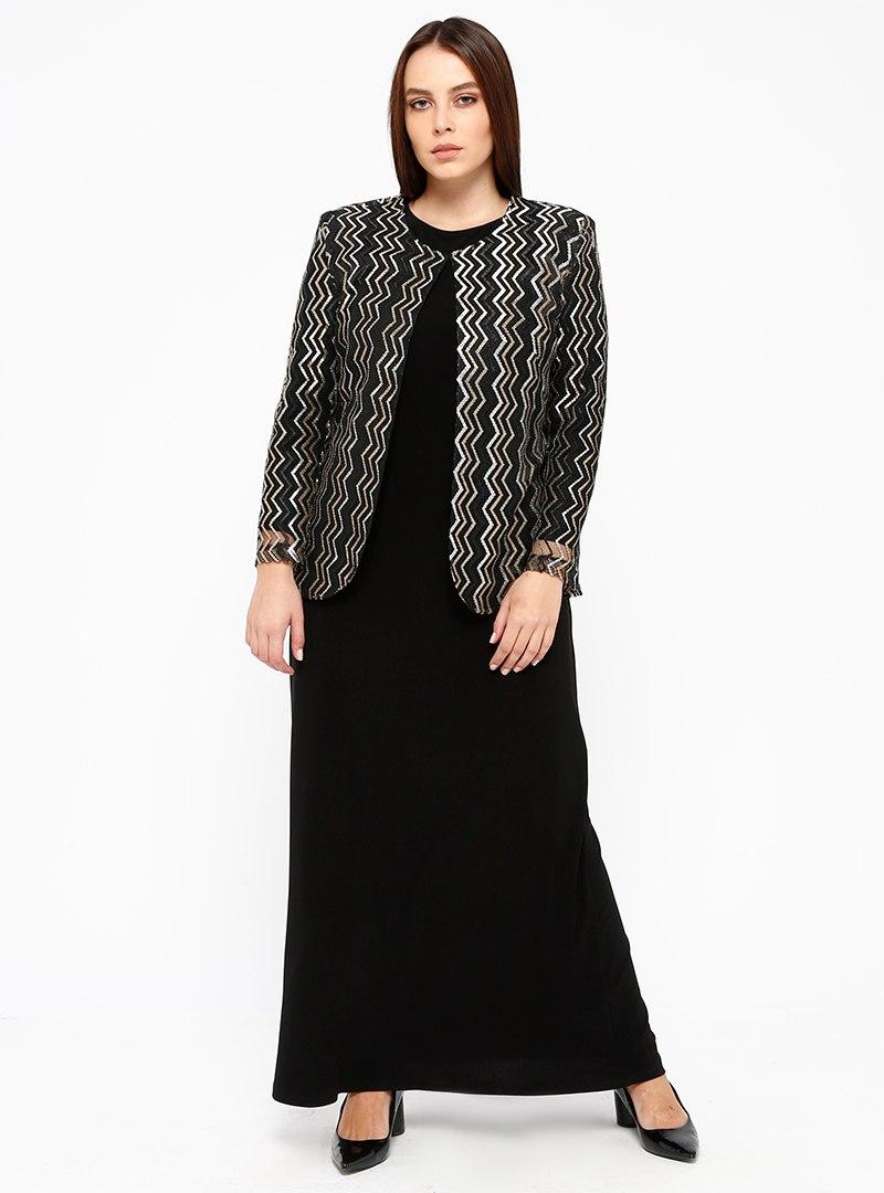 elbiseceket-ikili-abiye-takim-siyah-gold-arikan-608524-2