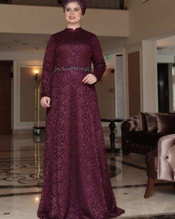 لباس شب  بنفش لباس شب  - بنفش  Saliha