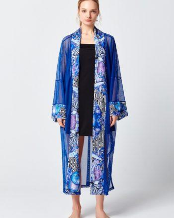 کیمونو آبی تیره  کیمونو - آبی تیره   Mayovera