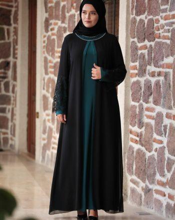 توری پیراهن سبز توری - پیراهن - سبز  Amine Huma