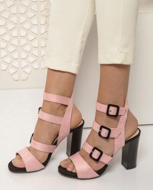 صندل صورتی روشن جیر صندل - صورتی روشن - جیر  Shoestime