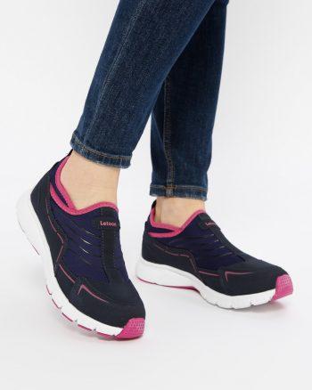 کفش اسپرت  سورمه ای سرخابی کفش اسپرت  - سورمه ای - سرخابی  Letoon