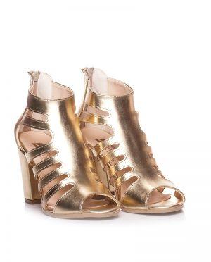 لباس شب کفش طلایی لباس شب - کفش - طلایی  Ayakkabi Havuzu