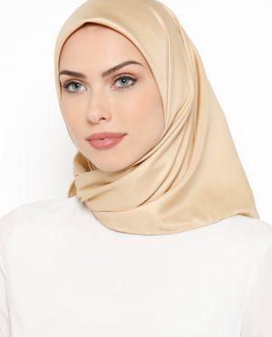 ساده روسری طلایی ساده - روسری - طلایی  Misirli