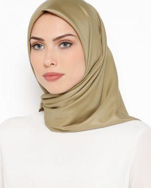 ساده روسری یشمی ساده - روسری - یشمی  Misirli