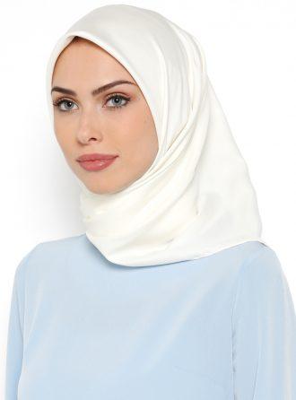ساده روسری کرمی ساده – روسری – کرمی  Misirli