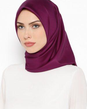 ساده روسری ارغوانی ساده - روسری - ارغوانی  Misirli