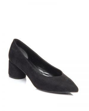 کفش پاشنه بلند  مشکی جیر کفش پاشنه بلند  - مشکی - جیر  Shoestime