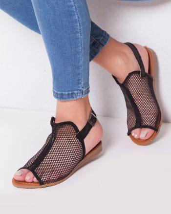 صندل مشکی کفش صندل - مشکی - کفش  Moda Ayakkabi