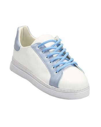 کفش سفید آبی کفش - سفید - آبی  Zenneshoes