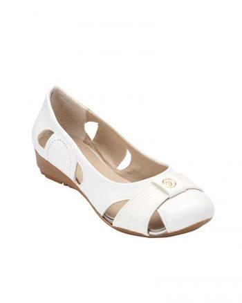 کفش عروسکی سفید کفش عروسکی - سفید  Zenneshoes