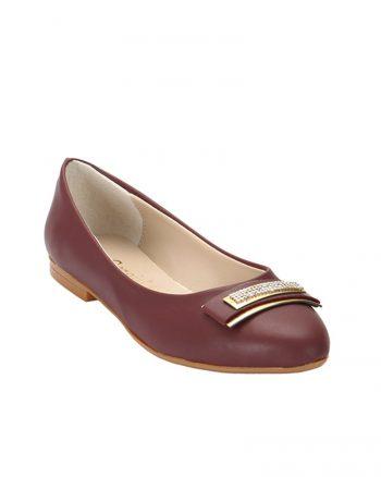 کفش عروسکی زرشکی کفش عروسکی - زرشکی  Zenneshoes