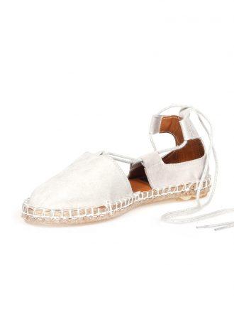 کفش عروسکی طوسی جیر کفش عروسکی – طوسی – جیر  Derigo