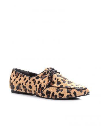 کفش عروسکی مشکی قهوه ای پلنگی کره اسب کفش عروسکی - مشکی - قهوه ای - پلنگی - کره اسب  Mecrea