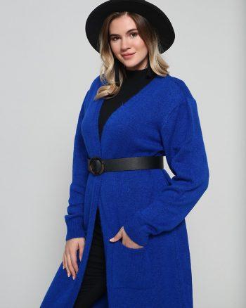 تریکو بافتنی آبی آلیا تریکو - بافتنی - آبی - آلیا  Alia