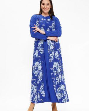 طرحدار پیراهن آبی طرحدار - پیراهن - آبی  Cml Collection