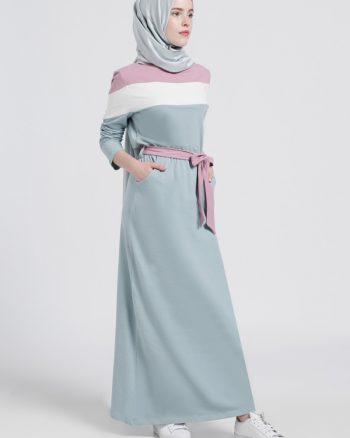 ابریشمی اسپرت پیراهن رنگ گل رز آبی ابریشمی - اسپرت - پیراهن - رنگ گل رز - آبی  Benin