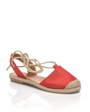 صندل قرمز جیر صندل - قرمز - جیر  Shoestime