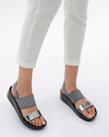 صندل پلاتینی کفش صندل - پلاتینی - کفش  Ayakkabi Havuzu