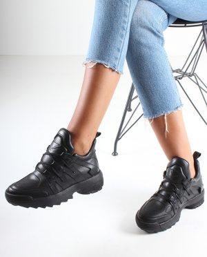 کفش اسپرت  مشکی کفش کفش اسپرت  - مشکی - کفش  Inan Ayakkabi