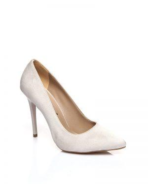کفش پاشنه بلند  روشن بژ کفش پاشنه بلند  - روشن روشن - بژ  Shoestime