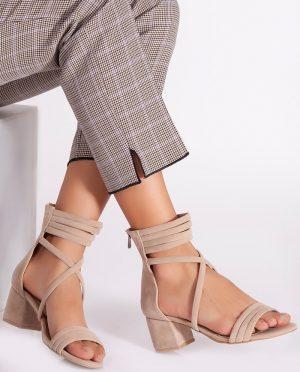 کفش پاشنه بلند  بژ کفش کفش پاشنه بلند  - بژ - کفش  Ayakkabi Havuzu
