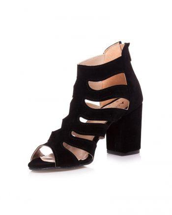کفش پاشنه بلند  مشکی جیر کفش کفش پاشنه بلند  - مشکی - جیر - کفش  Ayakkabi Havuzu
