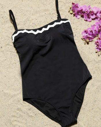bikini زنانه مایو - مشکی     Aquella 421979