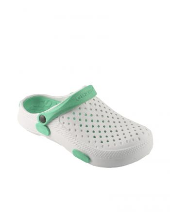 terlik زنانه دمپایی - سبز - سفید     Gezer 602410