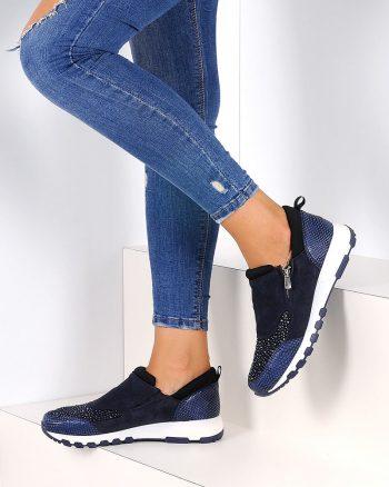 کفش زنانه کفش - سورمه ای - صورتی     Pembe Potin 561796