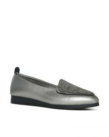 کفش تخت عروسکی زنانه کفش عروسکی - نقره ای   راحتی Angelshe 649376