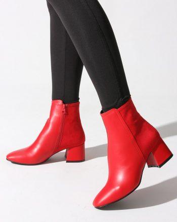 پوتین زنانه پوتین - قرمز   روزانه Rovigo 568082