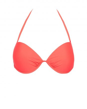 bikini زنانه چیندار - طرح دار - بیکینی - نارنجی چیندار   Defacto 593131