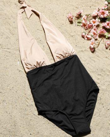 bikini زنانه تیکه دار - مایو - قهوه ای سموری     Aquella 421983