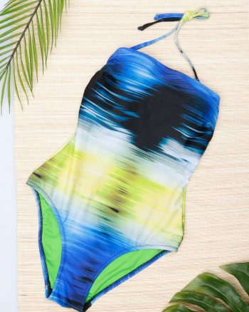 bikini زنانه ورزشی - مایو - سبز - آبی     Reflections 369012