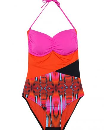 bikini زنانه مایو - نارنجی - صورتی     Reflections 447892