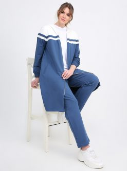 ست لباس گرمکن زنانه شیری     Alia 610215