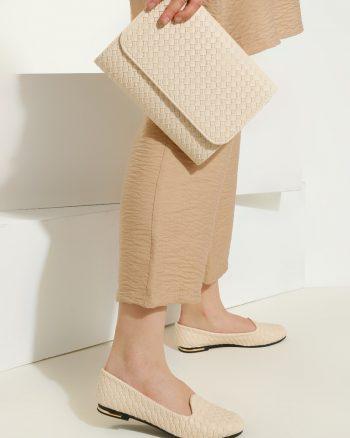 ست کیف و کفش زنانه بژ     Just Shoes 1059252